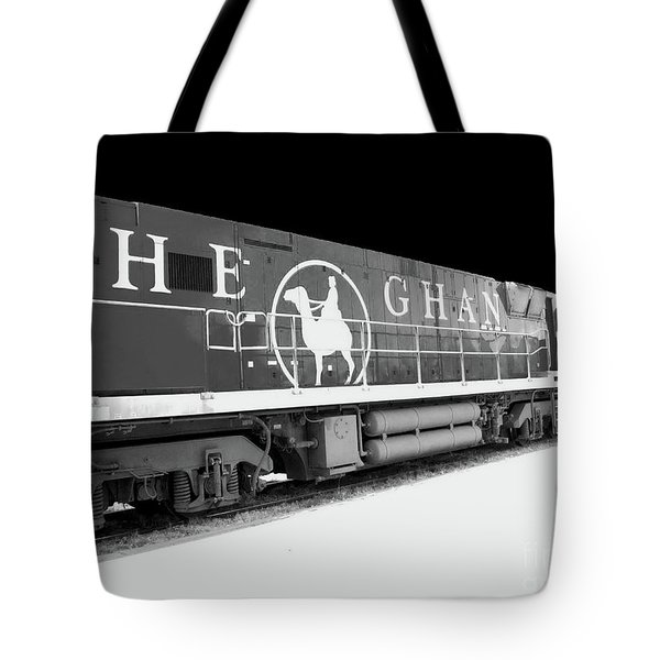 The Ghan Bw Tote Bag