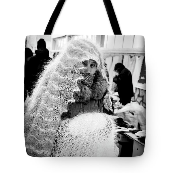 Tote Bag featuring the photograph The Ghost by John Williams