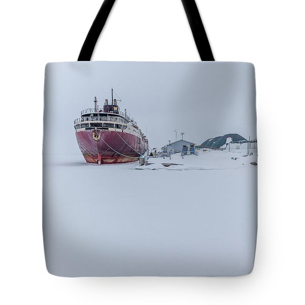 The Ghost Of American Fortitude Tote Bag