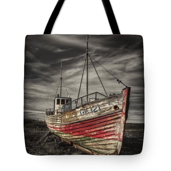 The Ghost Ship Tote Bag by Evelina Kremsdorf