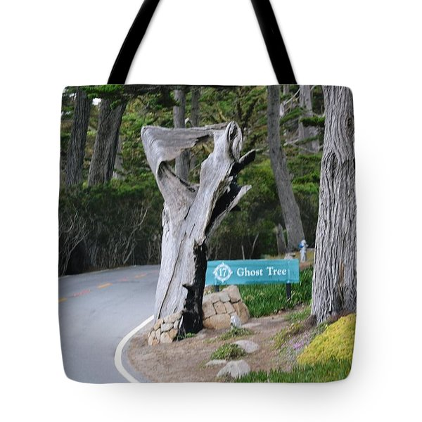 The Ghost Tree Tote Bag