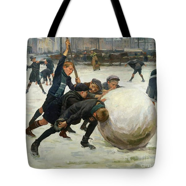 The Giant Snowball Tote Bag by Jean Mayne