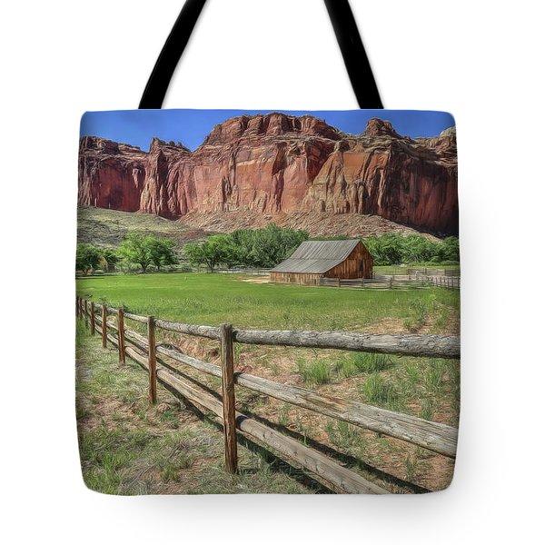 The Gifford Homestead Tote Bag