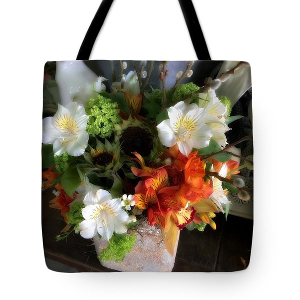 Tote Bag featuring the photograph The Gift Of Giving by Peggy Stokes