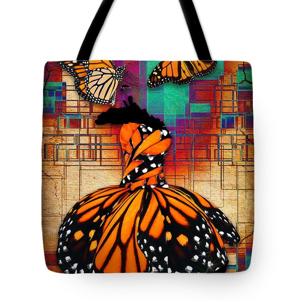 Tote Bag featuring the mixed media The Gift Of Life by Marvin Blaine