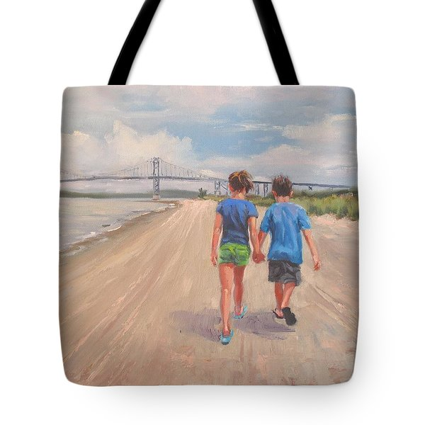 The Gift Of Love Tote Bag by Laura Lee Zanghetti
