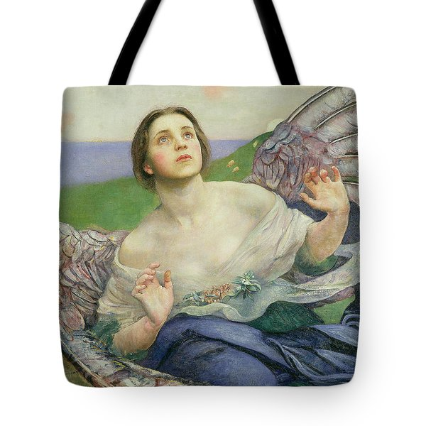 The Gift Of Sight Tote Bag by Annie Louisa Swynnerton