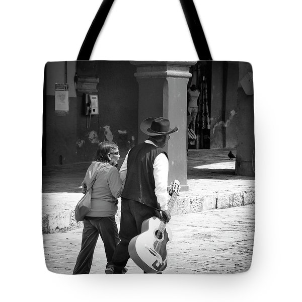 The Gig Is Over Tote Bag