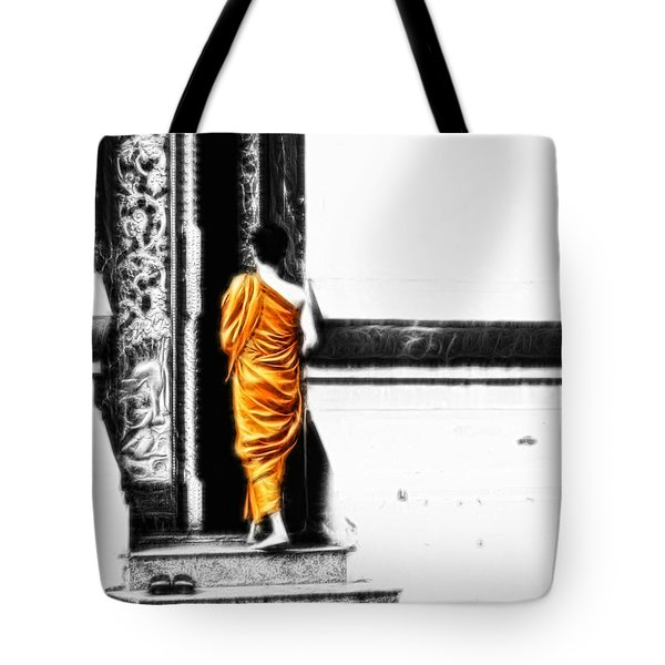 The Gilded Monk Tote Bag