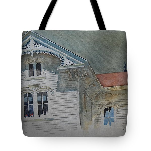 the Ginger Bread House Tote Bag