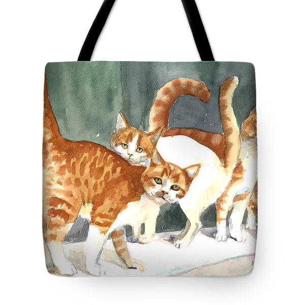 The Ginger Gang Tote Bag