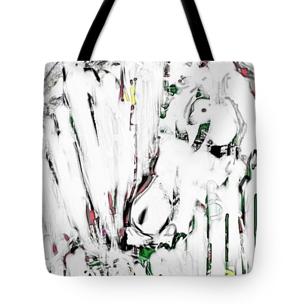 The Girl With Lambs Tote Bag