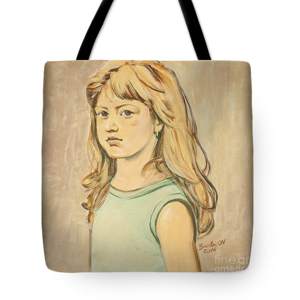 The Girl With The Golden Hair Tote Bag