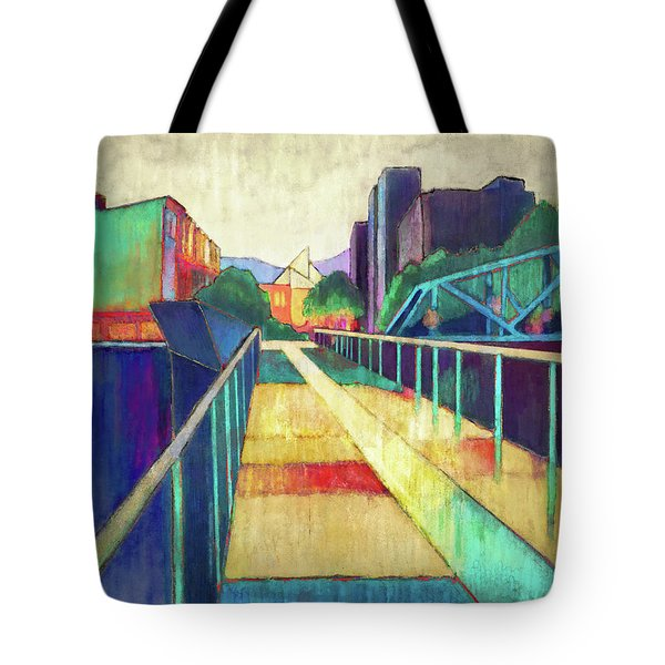The Glass Bridge Tote Bag