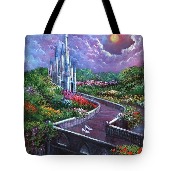 The Glass Slippers Tote Bag