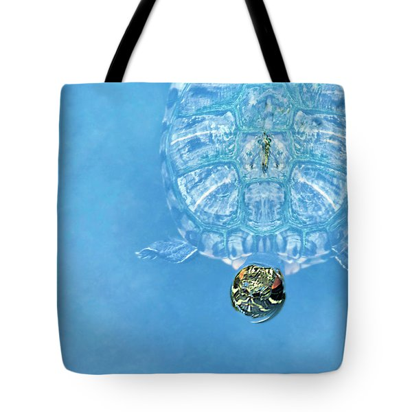 The Glass Turtle Tote Bag