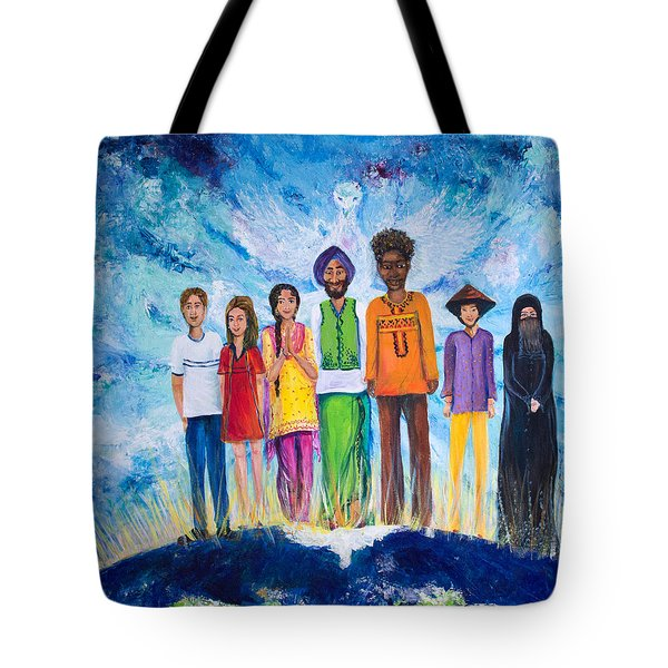 The Global Family Tote Bag