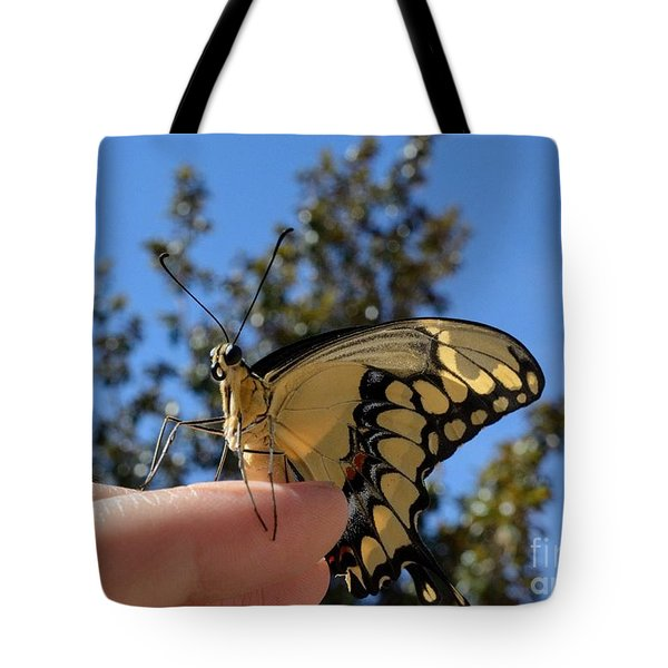 The Glorious Swallowtail  Tote Bag