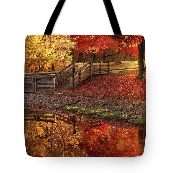 The Glory Of Autumn Tote Bag
