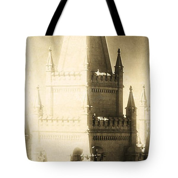 Tote Bag featuring the photograph The Glory Of The Lord Shone Round About by Greg Collins