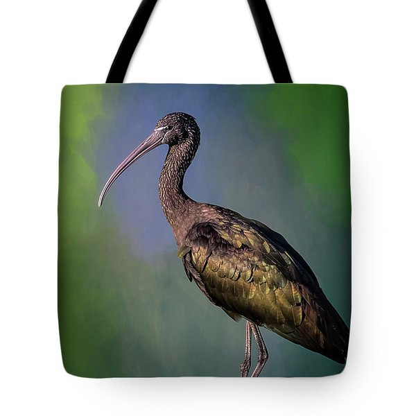 The Glossy Ibis Stroll Tote Bag