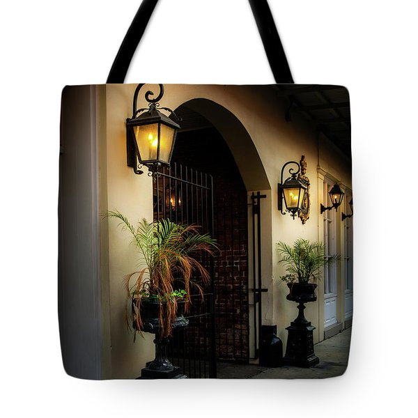 The Glow Of Gas Tote Bag