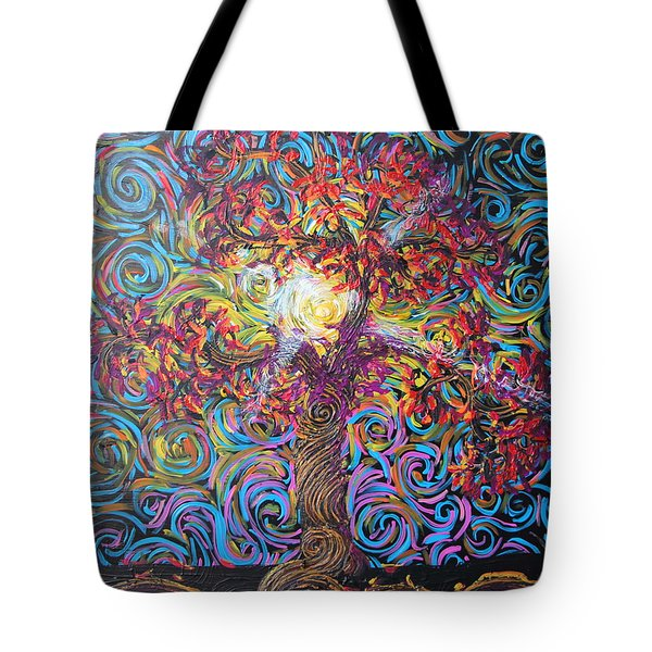 The Glow Of Love Tote Bag