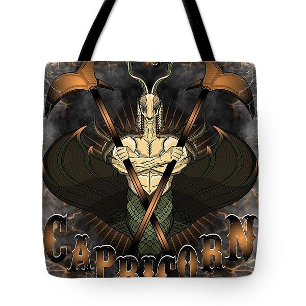 The Goat Capricorn Spirit Tote Bag