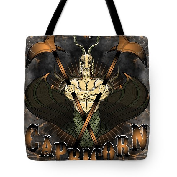 The Goat Capricorn Spirit Tote Bag