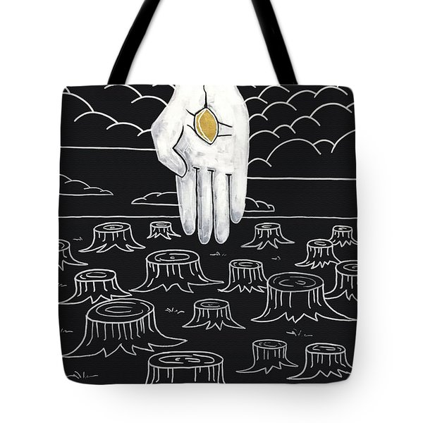 The God Who Restores Tote Bag