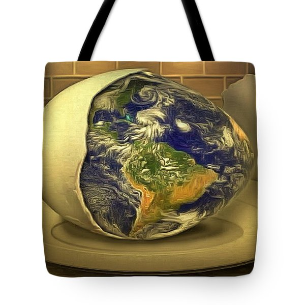 The God's Egg Tote Bag