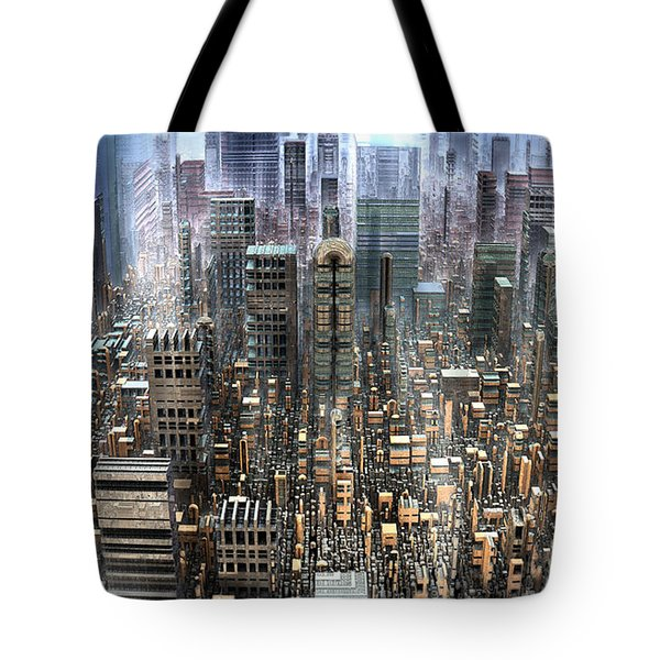 The Gold District Tote Bag