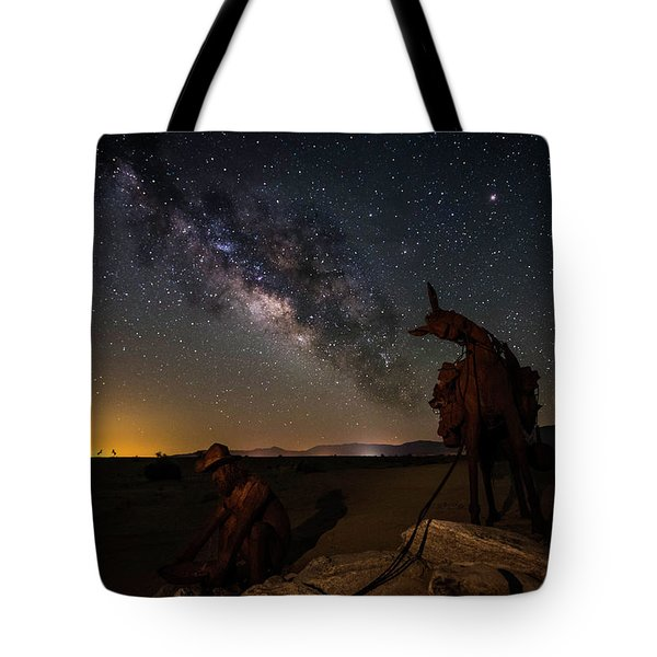 The Gold Miner Tote Bag by Scott Cunningham