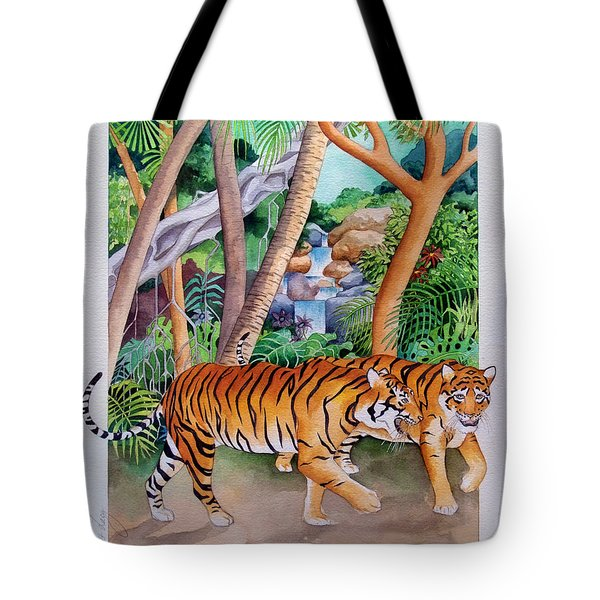 The Gold Of The Tigers Tote Bag by Robert Lacy