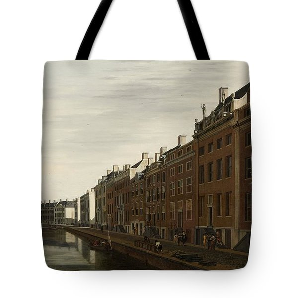 The Golden Bend In The Herengracht, Amsterdam, Seen From The West, 1672 Tote Bag
