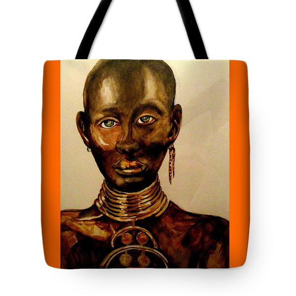 The Golden Black Tote Bag