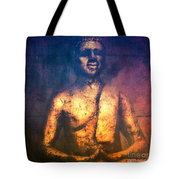 The Golden Buddha II Tote Bag