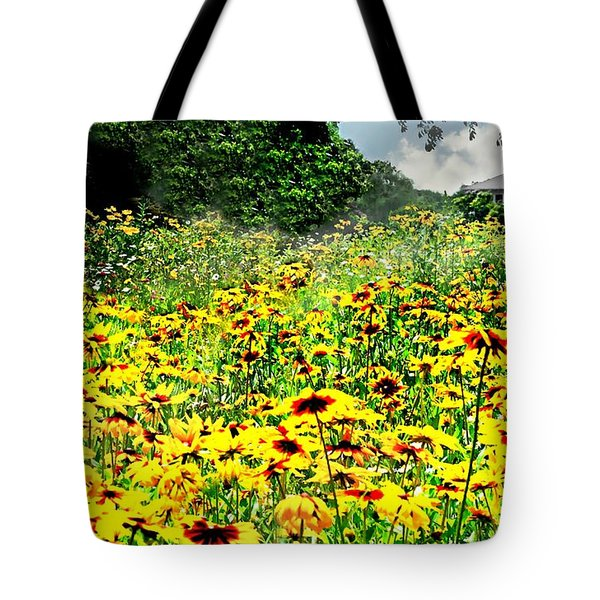 The Golden Carpet Tote Bag