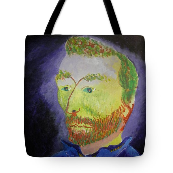 The Golden Coalminer Tote Bag