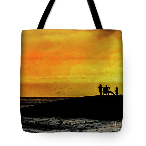The Golden Hour II Tote Bag