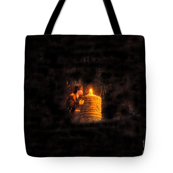The Golden Idol Tote Bag by David Lee Thompson