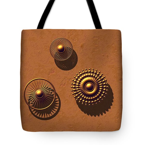 The Golden Ones Tote Bag