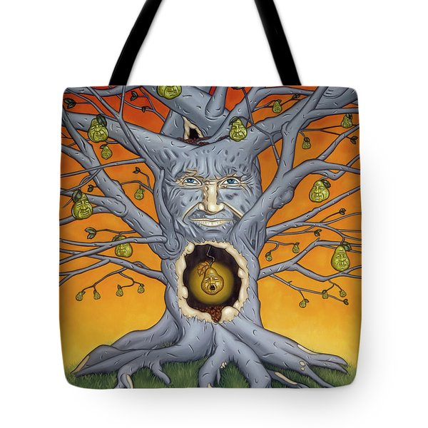 The Golden Pear Tote Bag