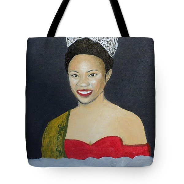 The Golden Queen  Tote Bag