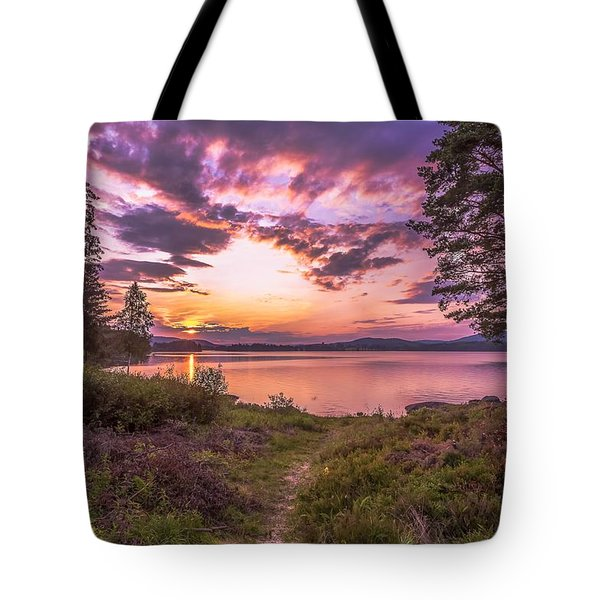 Tote Bag featuring the photograph The Golden Time by Rose-Maries Pictures
