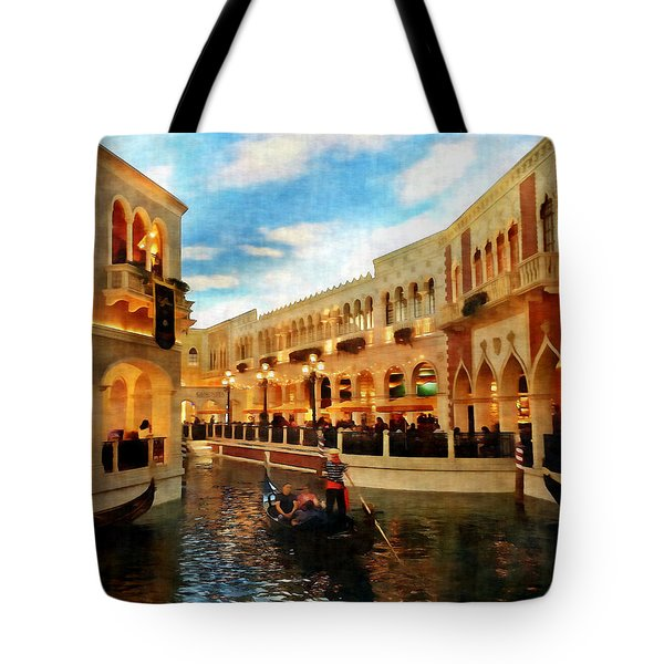 The Gondolier Tote Bag by Dan Stone
