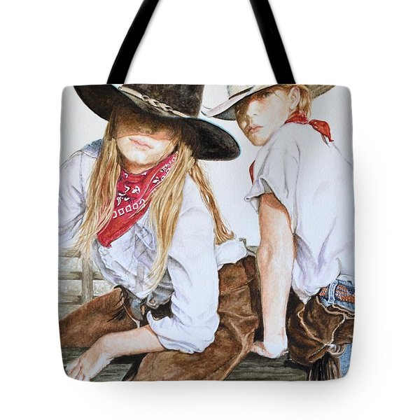 The Good And The Bad # 2 Tote Bag