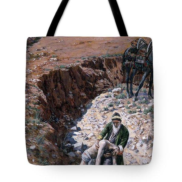 The Good Samaritan Tote Bag by Tissot