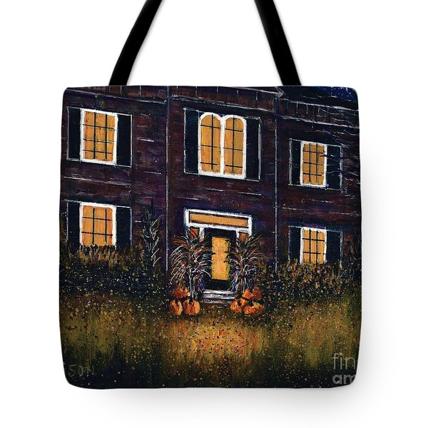 The Good Witch Grey House Tote Bag