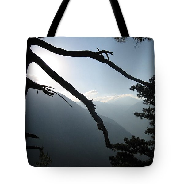 The Gorge Tote Bag by Oliver Johnston